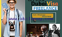 2 and 3 year freelance/own Dubai visa available