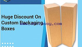 20% Discount On Custom Packaging - RegaloPrint