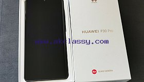 Huawei P30 Pro - Brand New in Box - Unlocked - VOG-L04 - 128GB - Black