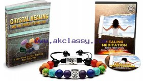 FREE Reiki Energy Healing Bracelet with Meditation Accelerated Healing Audiobook and Crystal Healing book