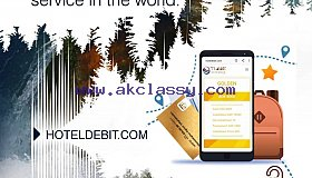Worldwide hotel booking cards