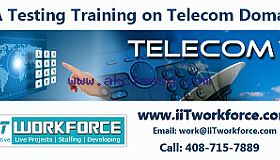 QA Real-time Project Workshop on Telecom Domain by IIT Workforce