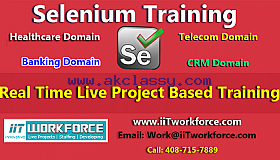 Selenium Automation Testing Project at iiT WorkForce