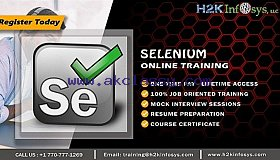 Selenium Online Training by Industry Experts