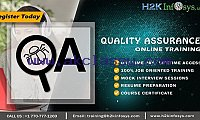 QA Online Training by Industry Experts