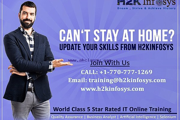 Cant Stay At Home? Let's Start Online Training With H2kinfosys
