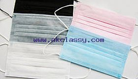 Non-woven Active Carbon Gary 4 Layer Medical Face mask
