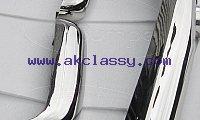 Mercedes W113 bumper kit (1963 -1971) bumper stainless steel