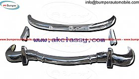 Mercedes 300SL bumper kit (1957-1963) stainless steel