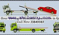 Car breakdown towing service Qatar