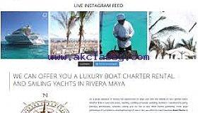 Boat Rental Rivera Maya
