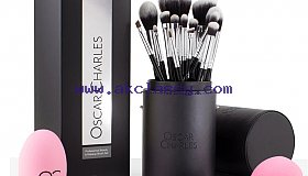 Cruelty Free Makeup Brush Set by Oscar Charles Beauty
