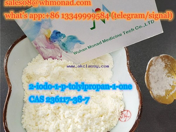 factory source 2-iodo-1-p-tolylpropan-1-one CAS 236117-38-7