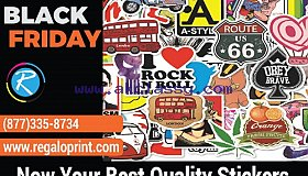 Now Your Best Quality Stickers Are Available With 20% Black Friday Discount