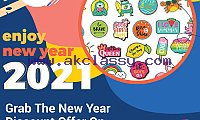 Grab 50% New Year Discount Offer On Customized Stickers