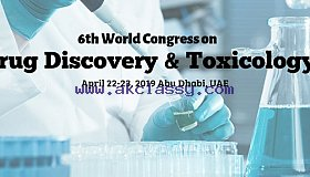 6th World Congress on Drug Discovery and Toxicology