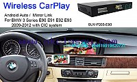 BMW E90 E91 E92 E93 Wireless Apple CarPlay Box Original Screen Update