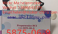 Raw Material Proparacaine Hydrochloride CAS 5875-06-9 with Lowest Price
