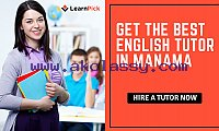 Hire the Best English Teacher in Manama with LearnPick: It's FREE