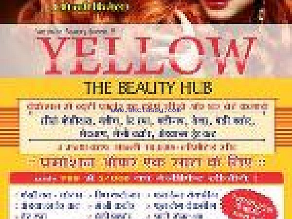 Beauty Parlour in Vesu - Surat - Yellow The Beauty Hub