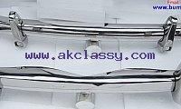Mercedes Ponton 220S bumper kit ( 1954-1960 ) stainless steel