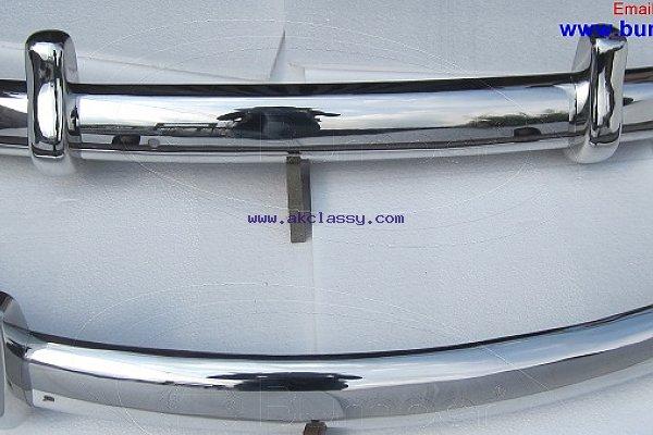 Volkswagen Beetle Euro style bumper (1955-1972) stainless steel
