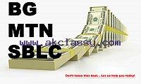 Financial Service Provider,bg/sblc/swift mt799,MT103