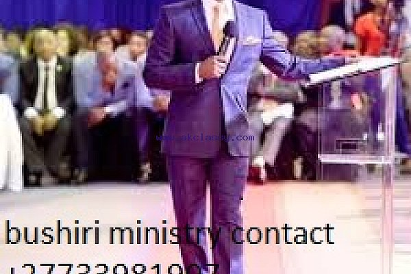 prophet bushiri ministry for booking and online prayers +27733981907