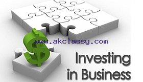 I'm an investor with 70% capital looking for business partner with 30% capital to expands any good business
