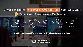 Software Development Company in Dubai - Indglobal