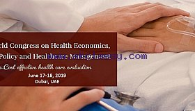 Six  edition of Health  economics , Health policy and health management conference