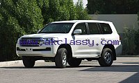B6 Level Armored Toyota Landcruiser GXR - 4.5L V8 –Diesel - 2019