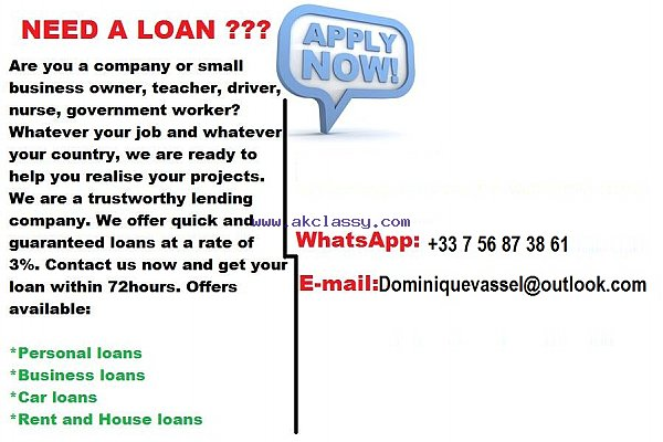 Loan offer between private and serious