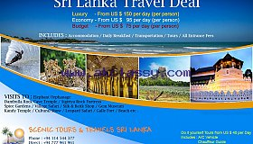 Sri Lanka Holidays TOP DEALS - 6 Nights / 7 Days