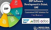 ERP Software Development Company in Dubai | Indglobal