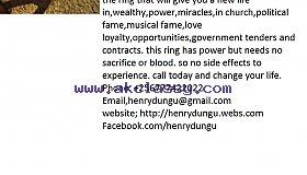 Magic power ring call +256777422022