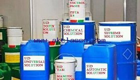 ssd chemical solution for cleaning black, green, white money or black dollar