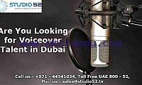 Are You Looking for Voiceover Talent in Dubai
