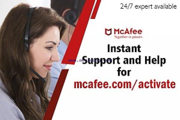 Mcafee Activate 25 digit code  - mcafee.com/activate