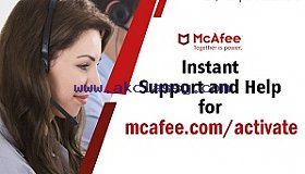 Mcafee Activate 25 digit code  - mcafee.com/activate