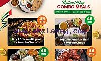 AED 49: Chicken Biryani / Chicken Grills Combo offer