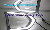 Nissan Patrol LED DRL day time running lights driving daylight